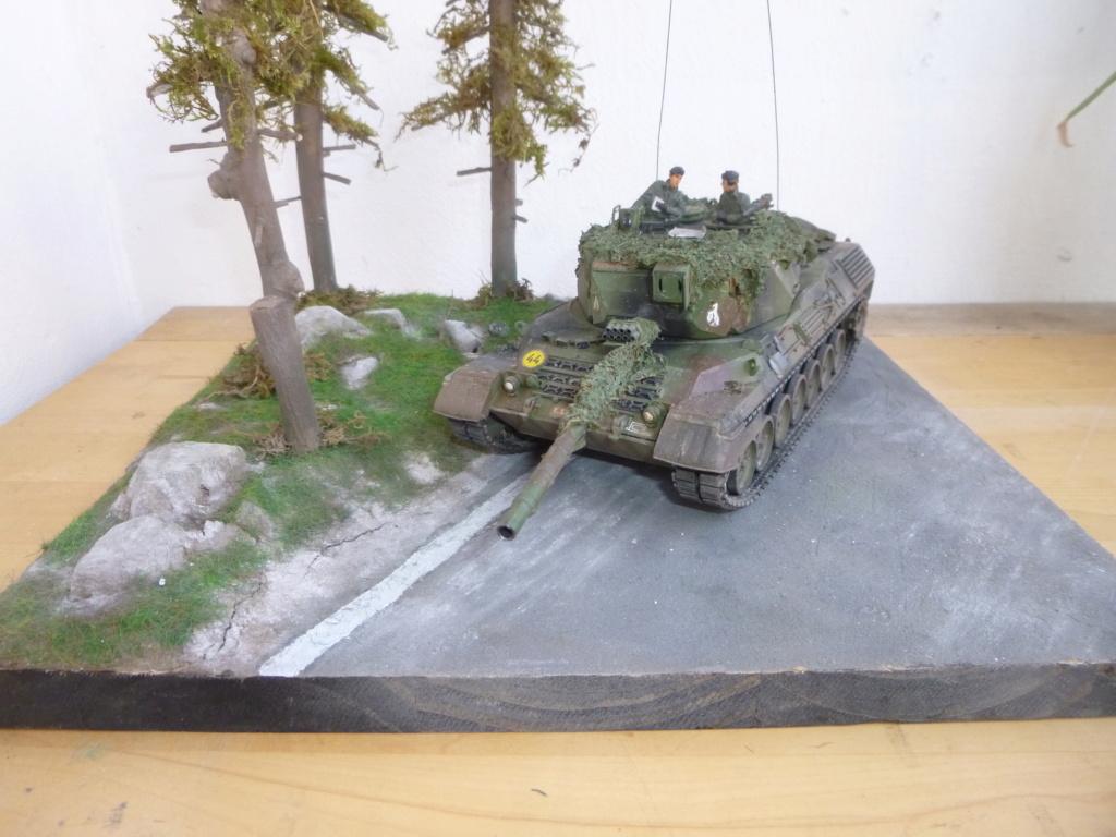 REFORGER Allemagne année 70 - 1:35 -Italeri Leopard 1A4-Valkyrie miniatures P1070523