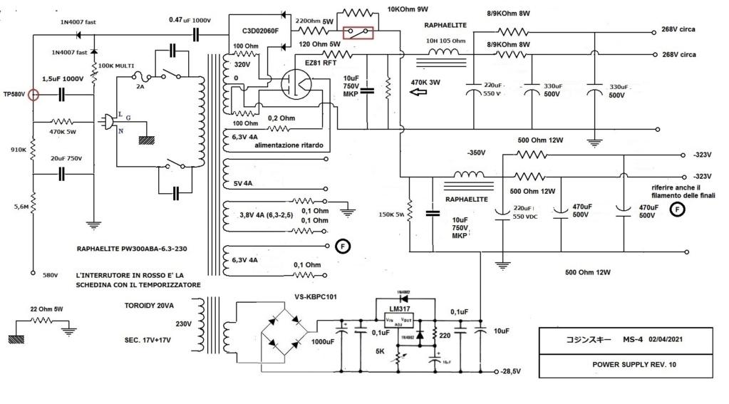 Un amplificatore per cuffie elettrostatiche ( コジンスキー ) - Pagina 9 Alim_s13