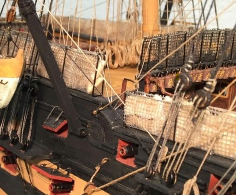 Nochmals ein Bauversuch, die H.M.S. Victory gebaut von Helling - Seite 4 Finkne10