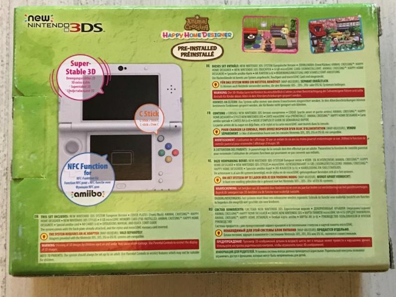 [VDS] Nintendo New 3DS Animal Crossing Happy Home Designer NEUVE - BAISSE 20/06/2021 Img_6111