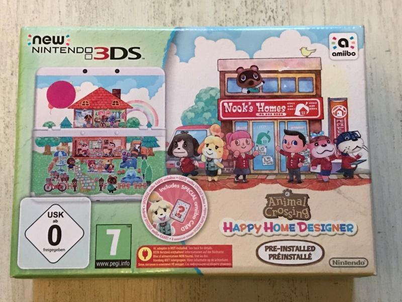 [VDS] Nintendo New 3DS Animal Crossing Happy Home Designer NEUVE - BAISSE 20/06/2021 Img_6112