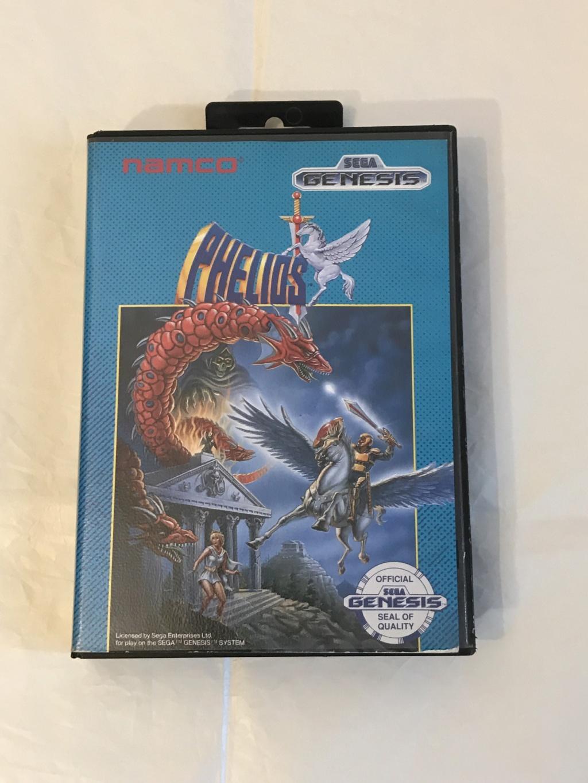 [VDS] Jeux Sonic MD PAL COmplet et Phelios US Phelio10