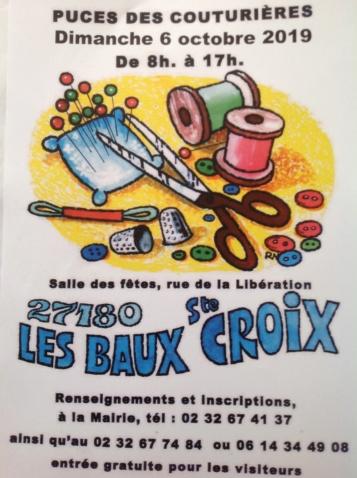 Puces des couturières 6 octobre Les Baux Ste Croix Image17