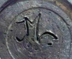 Demande de renseignements signature sur un bol en terre cuite année 1950-1960 Chmlft10