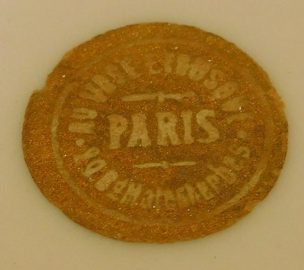 """Porte savon de Louis DAMON- """"Au vase étrusque"""" PARIS Vase-p10"""