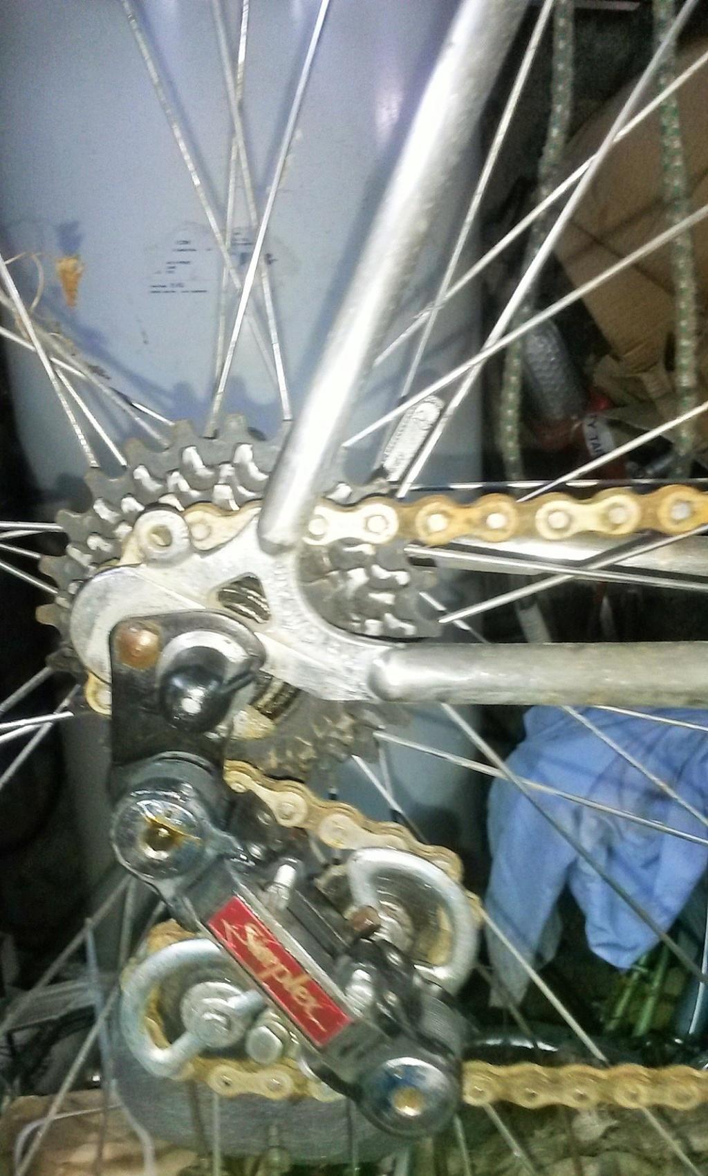 vélo de course a raccord NERVEX 1970 -75 00226