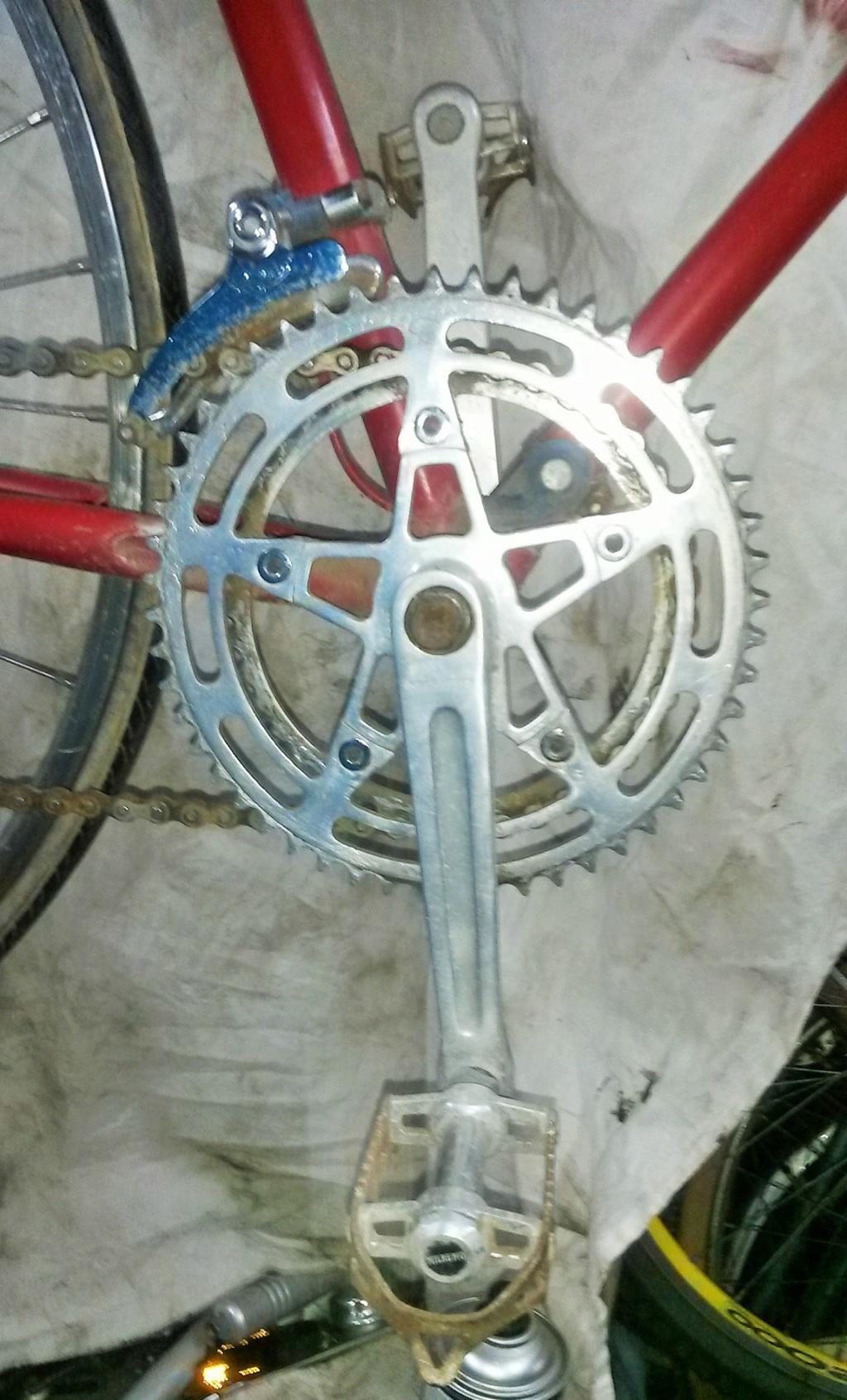 vélo de course a raccord NERVEX 1970 -75 00324
