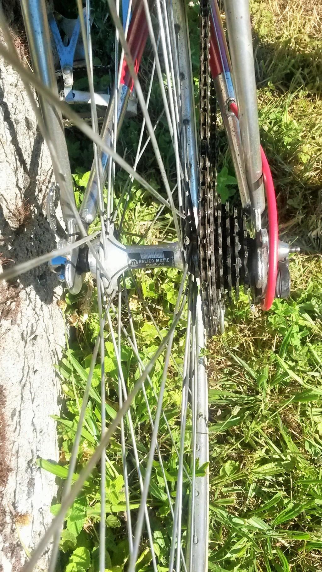 vélo de course a raccord NERVEX 1970 -75 00328