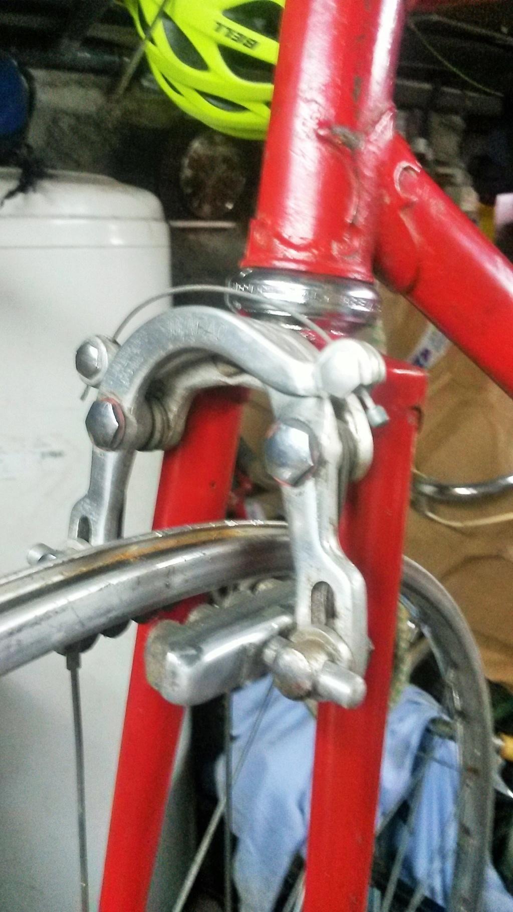 vélo de course a raccord NERVEX 1970 -75 00435