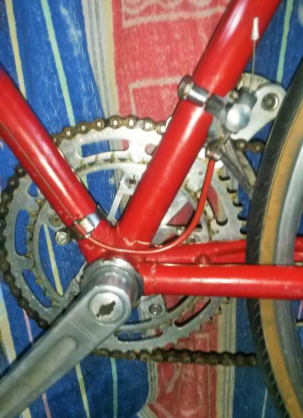 vélo de course a raccord NERVEX 1970 -75 00436