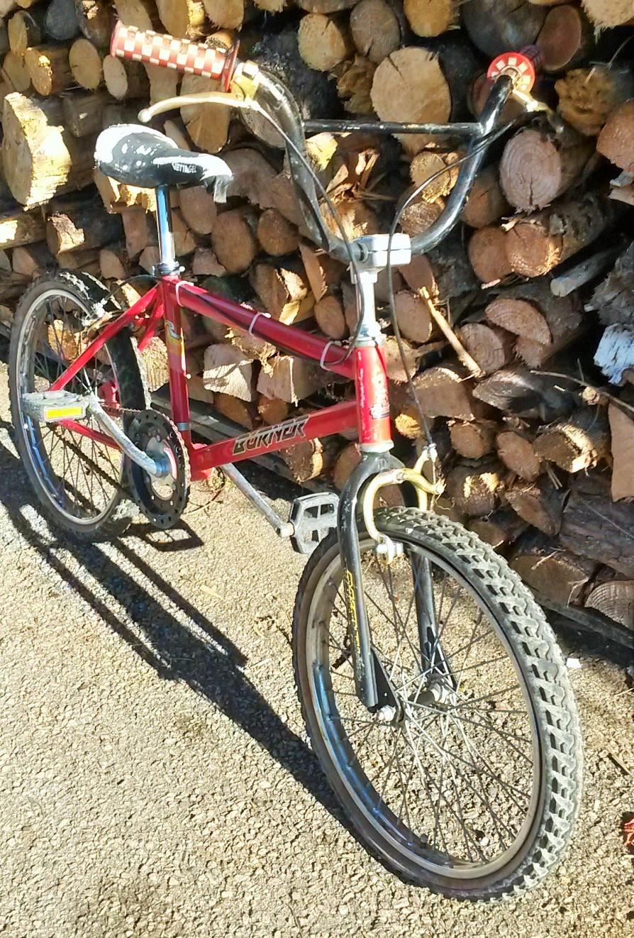 BMX Raleigh BURNER 1986-88 00619
