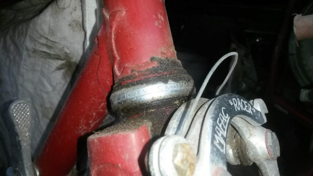 vélo de course a raccord NERVEX 1970 -75 00734