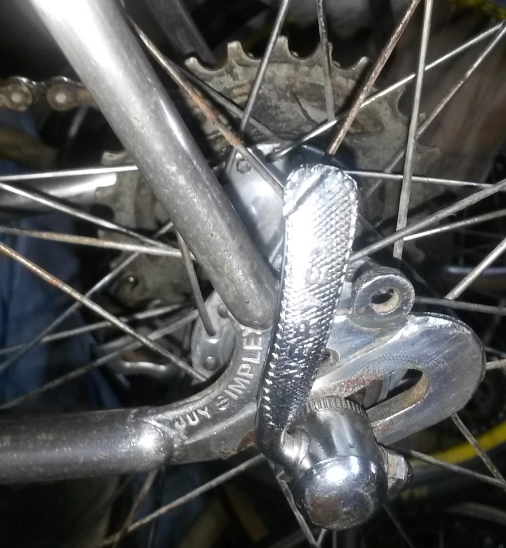 vélo de course a raccord NERVEX 1970 -75 00832