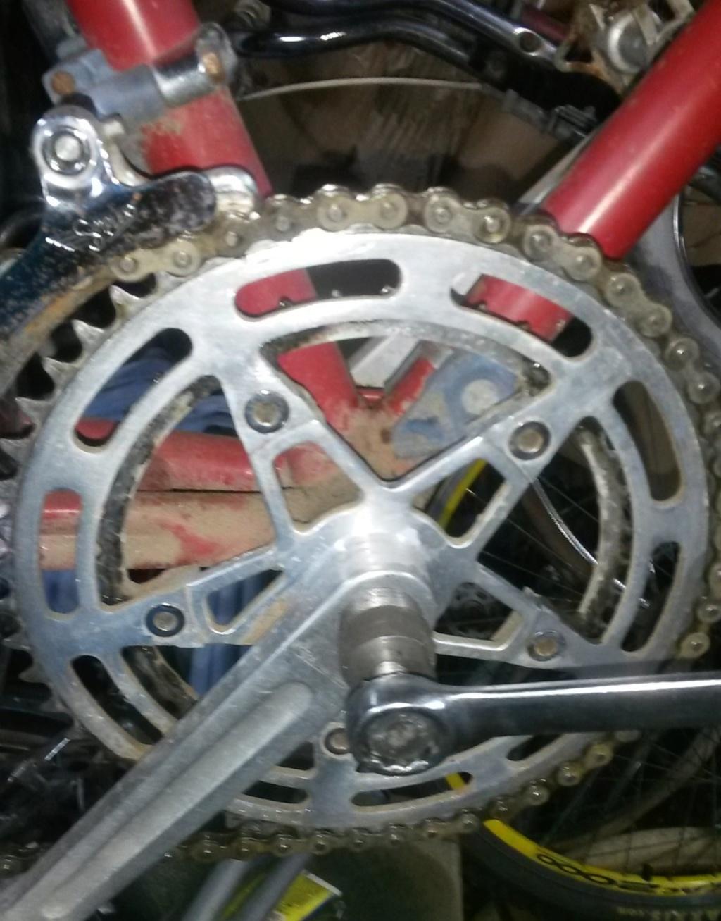 vélo de course a raccord NERVEX 1970 -75 01131