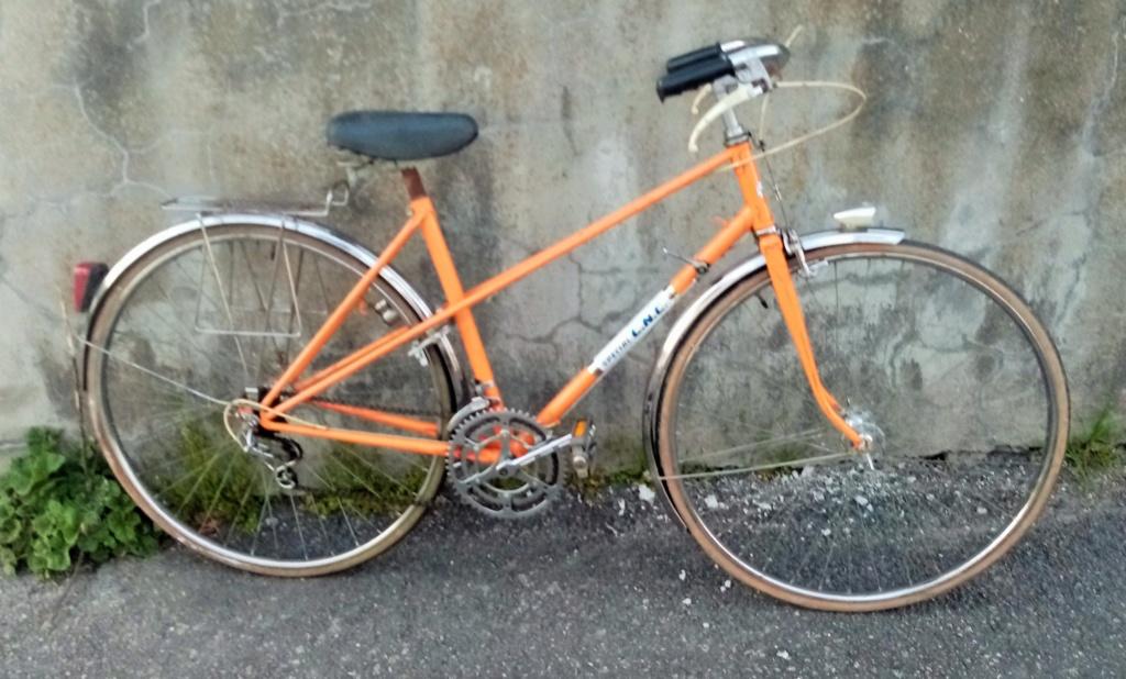 1/2 course dame SPECIAL CNC 1978 orange 01248