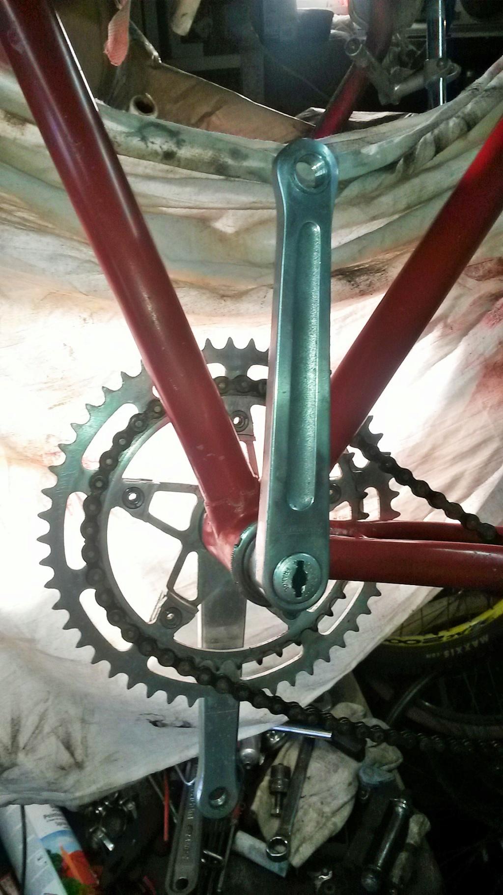 vélo de course a raccord NERVEX 1970 -75 01328