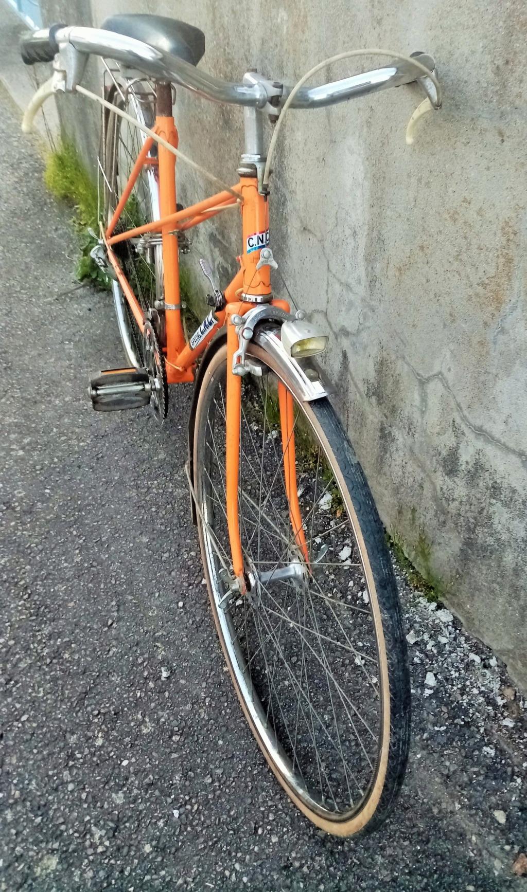 1/2 course dame SPECIAL CNC 1978 orange 01434
