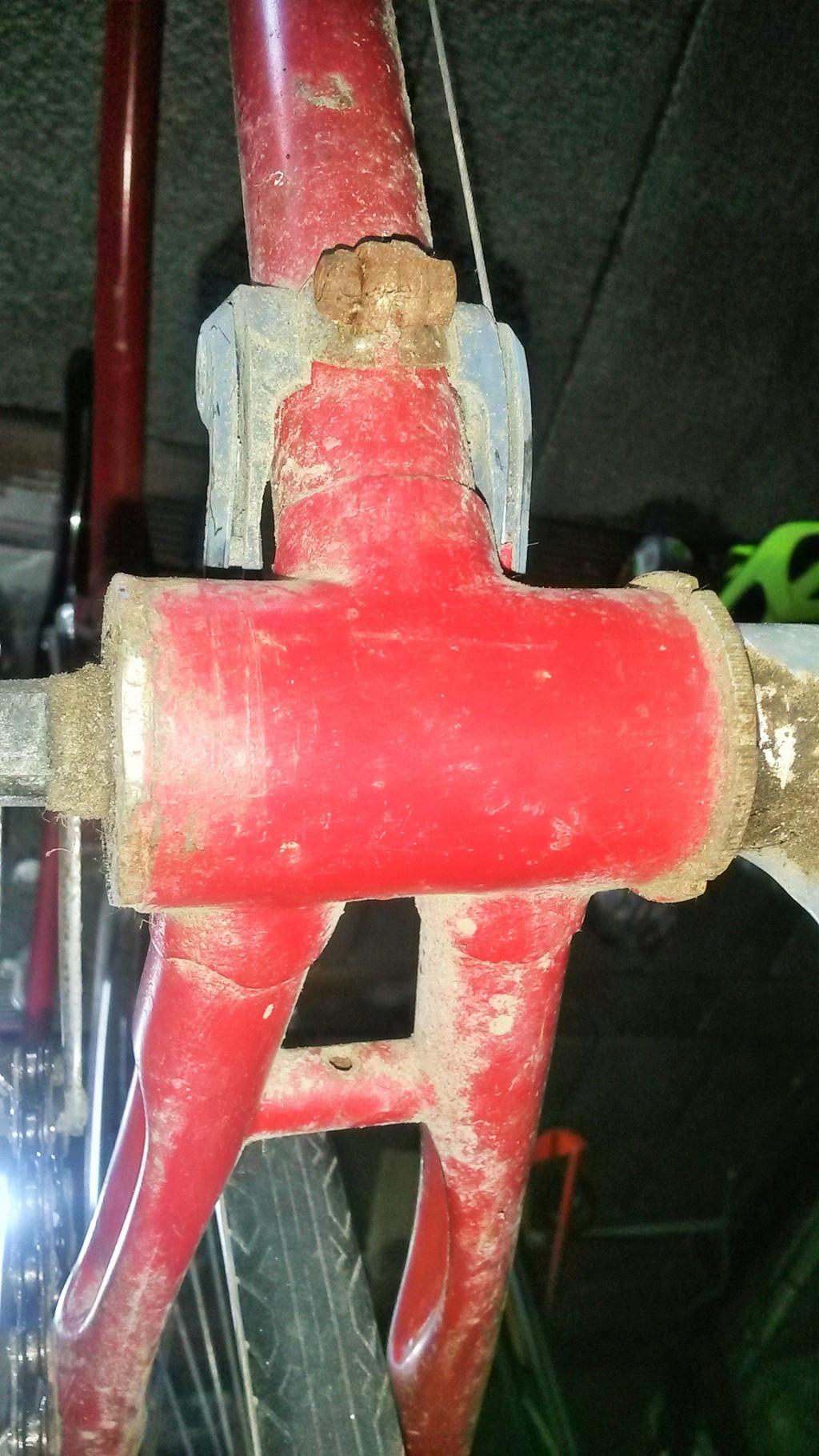 vélo de course a raccord NERVEX 1970 -75 01520