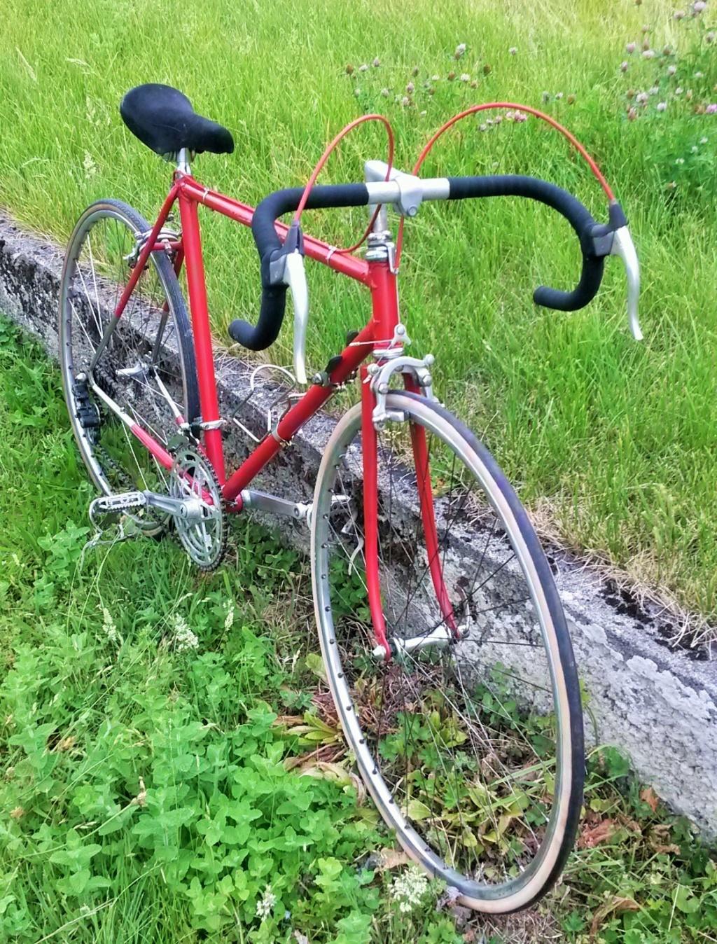 vélo de course a raccord NERVEX 1970 -75 01725