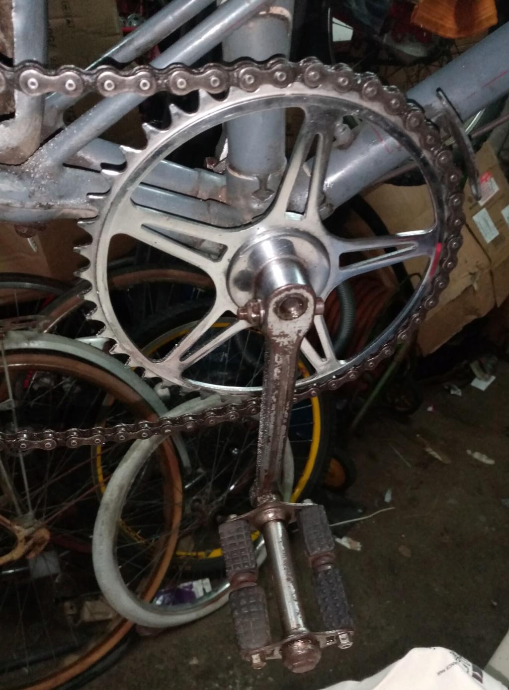 vélo mixte 1937-39 ROYAL FABRIC  3v CYCLO  01732