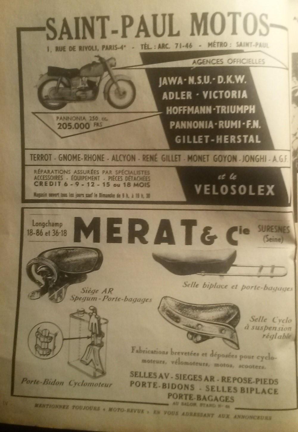 moto revue octobre 1956  01819