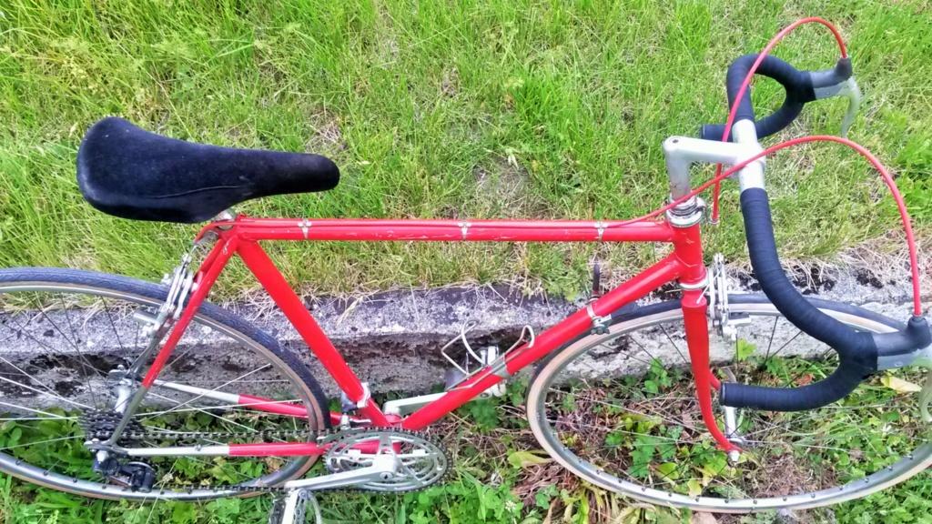 vélo de course a raccord NERVEX 1970 -75 02117