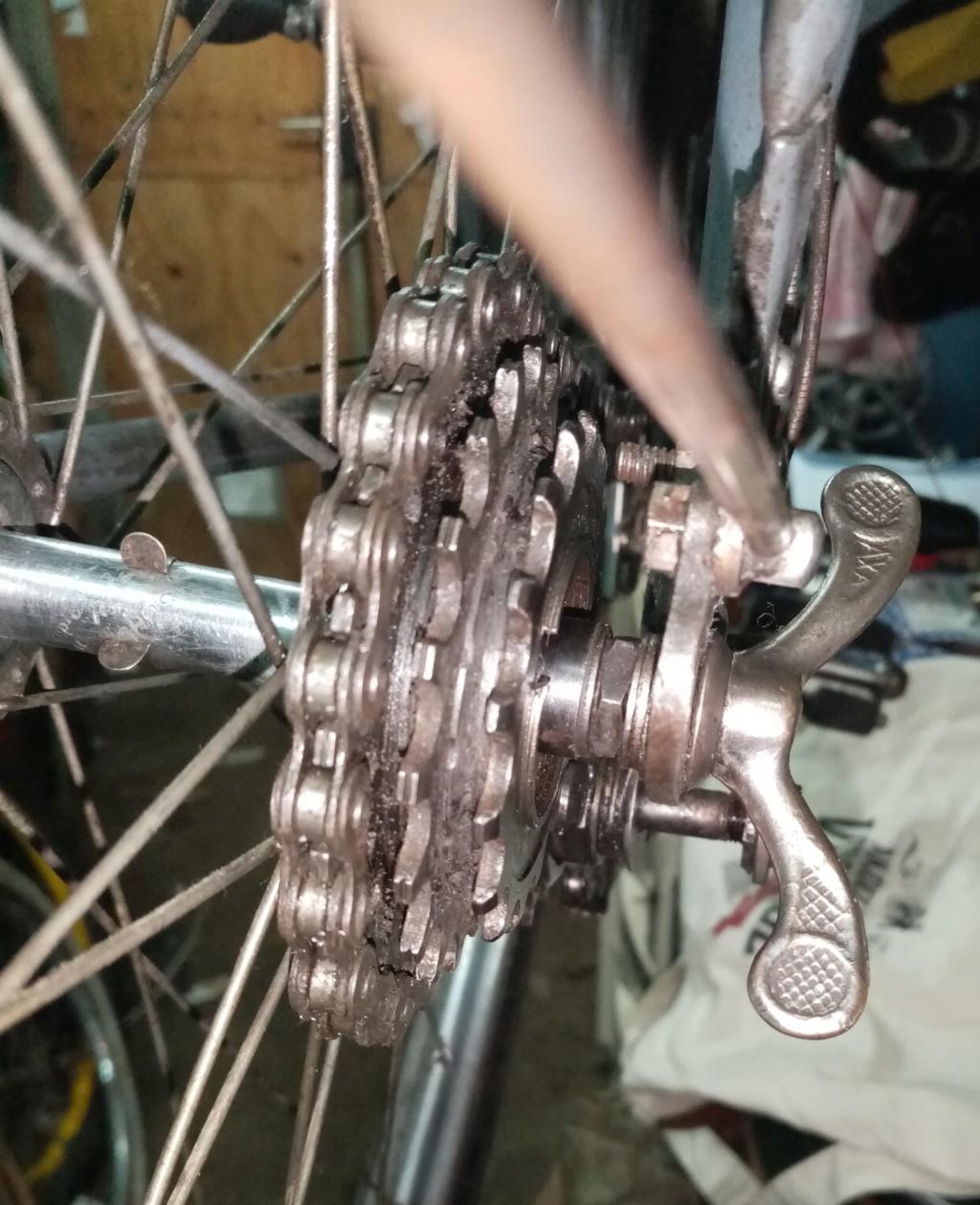 vélo mixte 1937-39 ROYAL FABRIC  3v CYCLO  02122