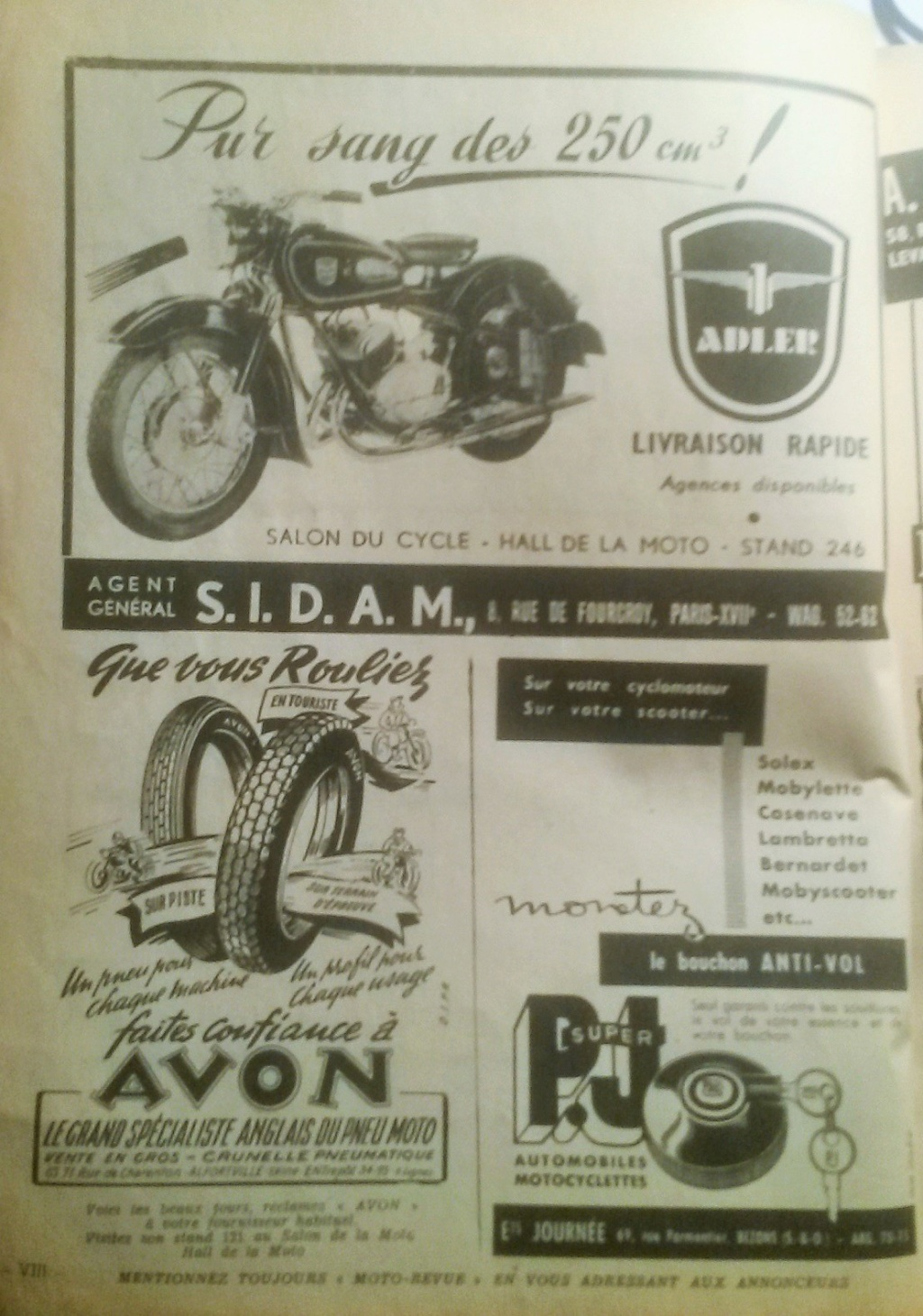 moto revue octobre 1956  02214