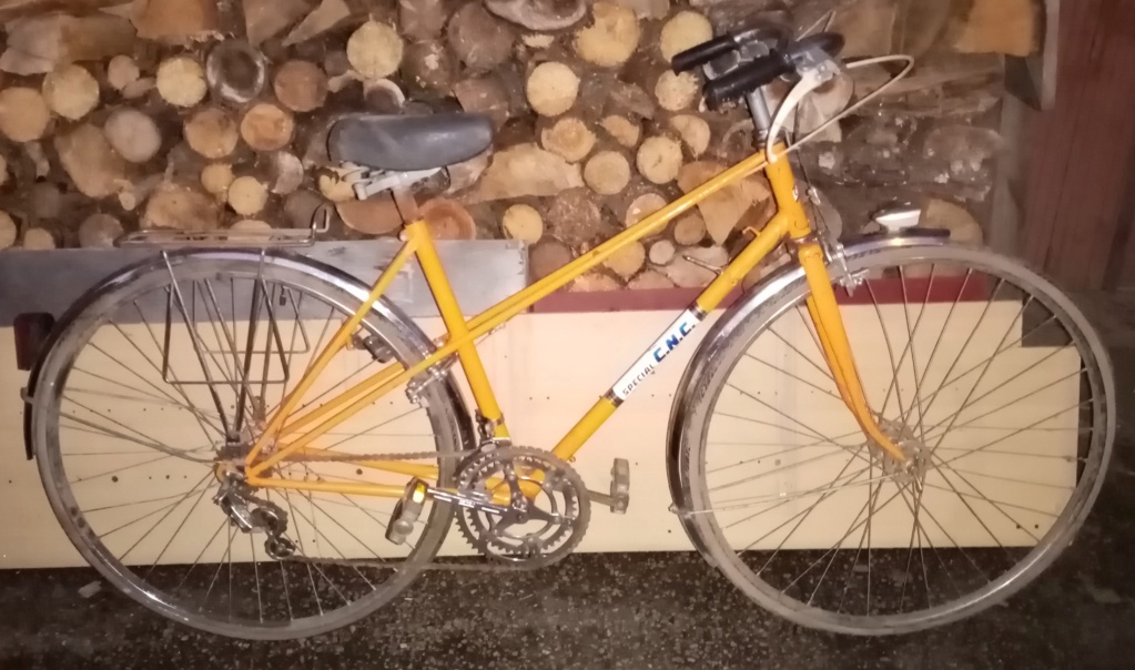 1/2 course dame SPECIAL CNC 1978 orange 02725
