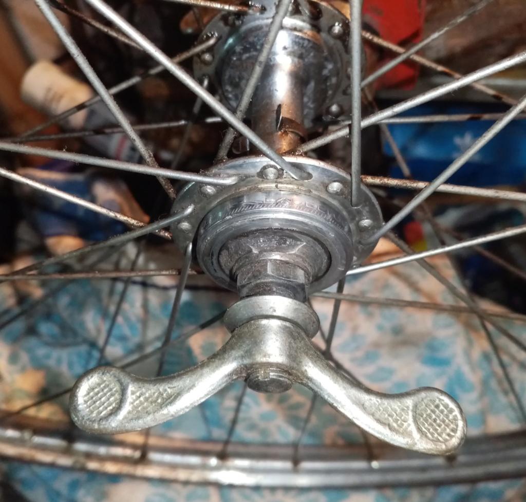 vélo mixte 1937-39 ROYAL FABRIC  3v CYCLO  03220