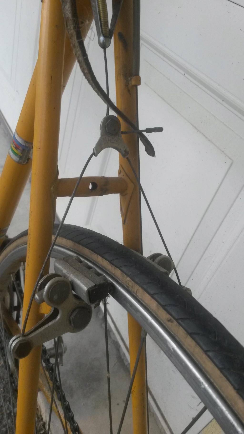 Vélo course GITANE Cyclo Cross 1976 03311