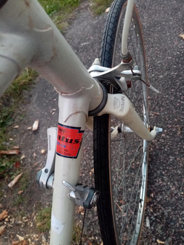 """course """" le vélo de MERCIER """" 1990 vitus 999 14v  03727"""
