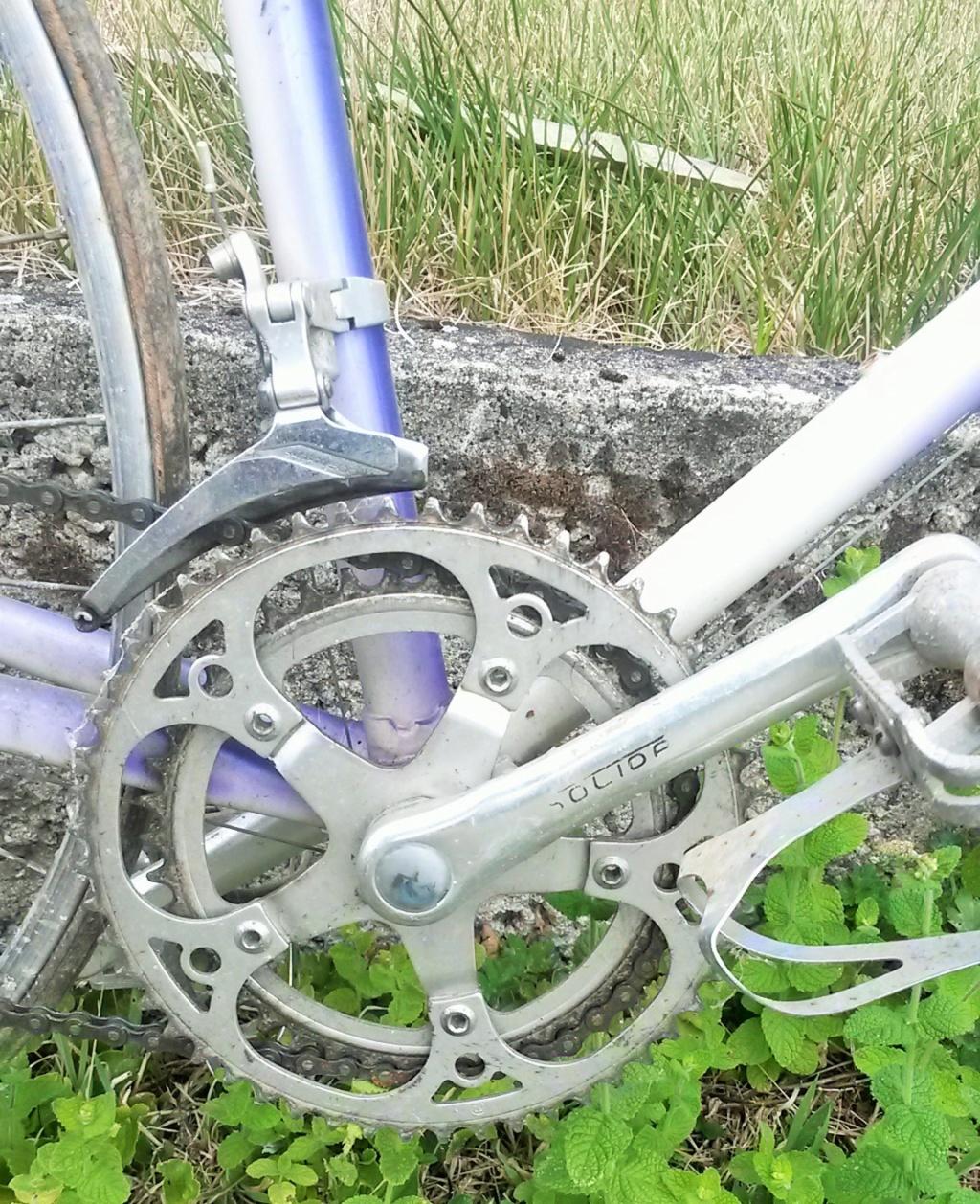 vélo de course FRANCOIS LE GUILLOUX 1987-90  04716