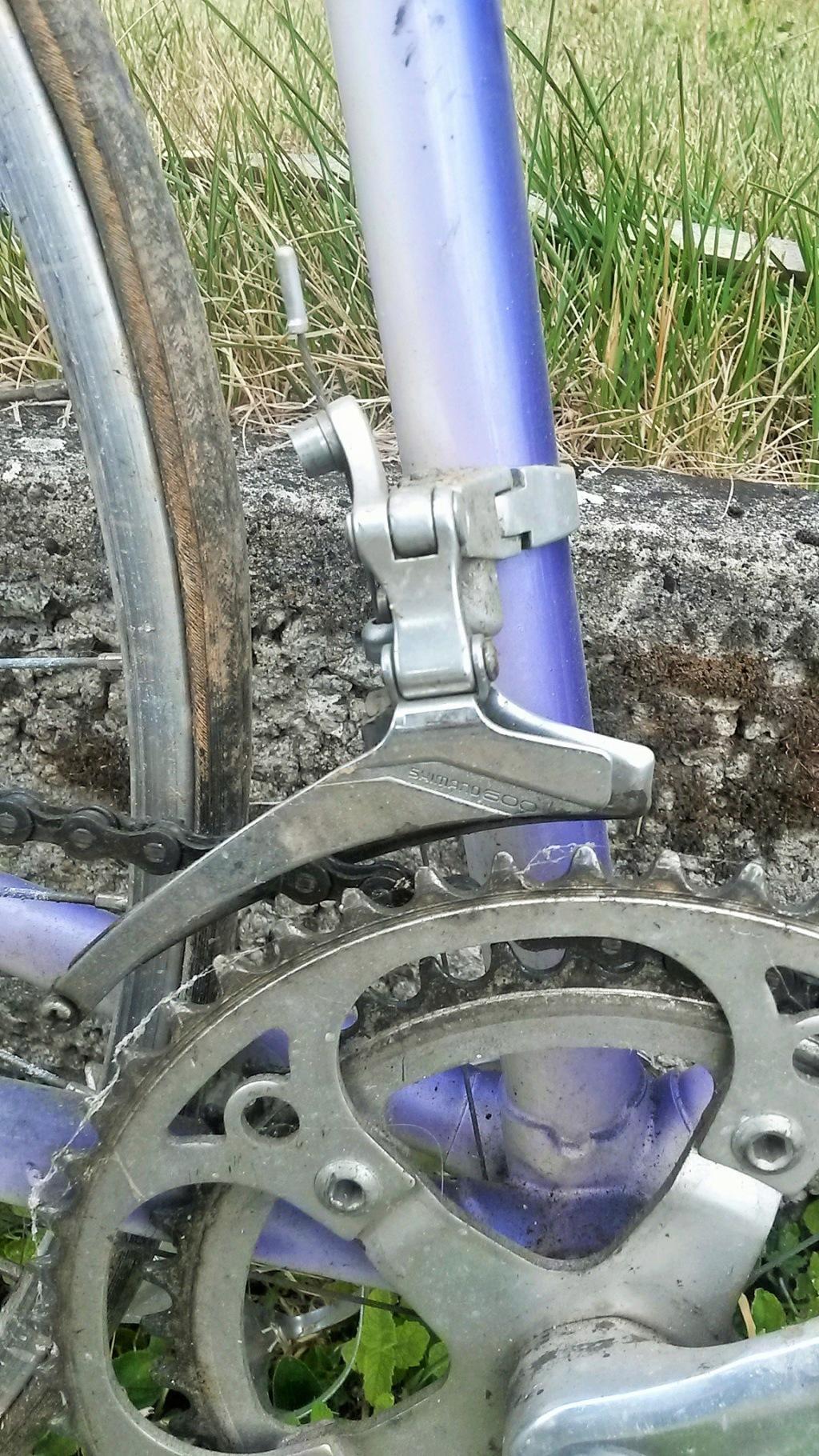 vélo de course FRANCOIS LE GUILLOUX 1987-90  04816