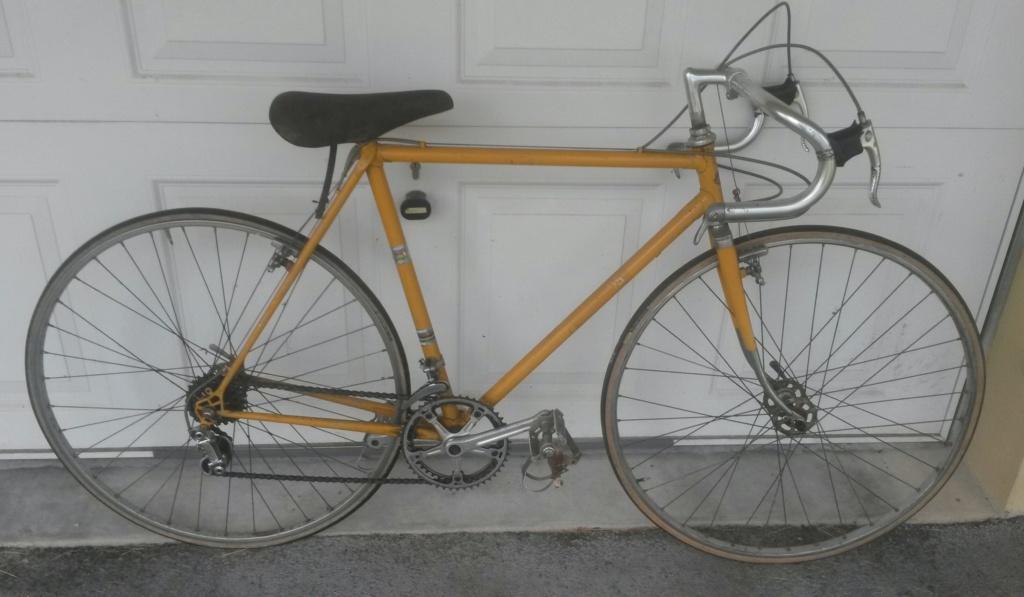 Vélo course GITANE Cyclo Cross 1976 04912