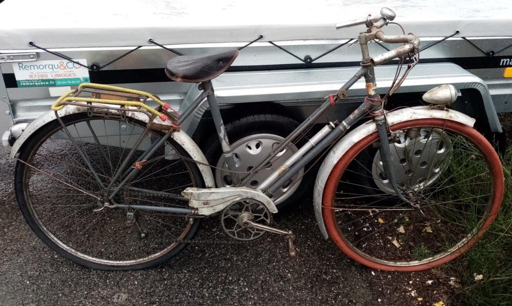 vélo mixte 1937-39 ROYAL FABRIC  3v CYCLO  200412