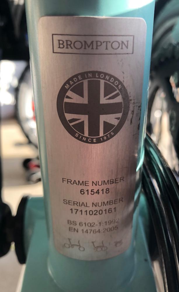 A vendre M6L Turkish Green Black Edition 2018 avec roulettes Rider [VENDU] Brompt19