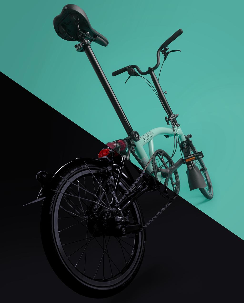 A vendre M6L Turkish Green Black Edition 2018 avec roulettes Rider [VENDU] Brompt20
