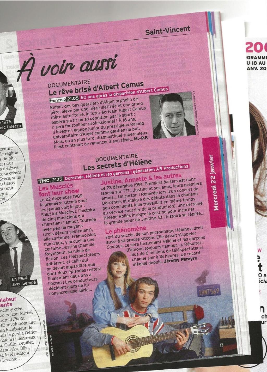 Génération AB Productions, le mercredi 22 janvier sur TMC - Page 2 Tele7j10