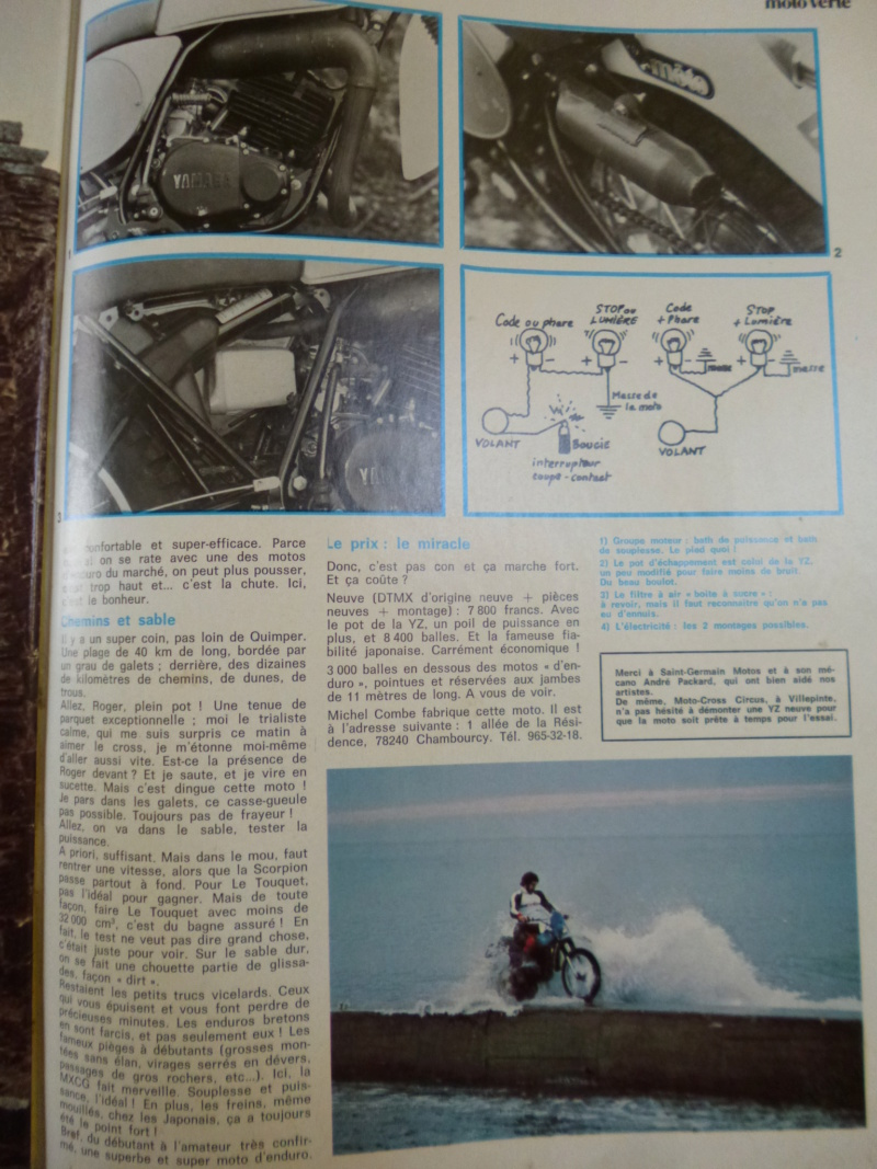 essai dtmx MXCG sur moto verte  P1140631