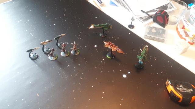 [NAVY vs CHAOS] Partie d'initiation – Duel de croiseurs 20210113