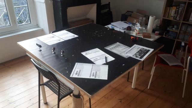 [NAVY vs CHAOS] Partie d'initiation – Duel de croiseurs 20210114