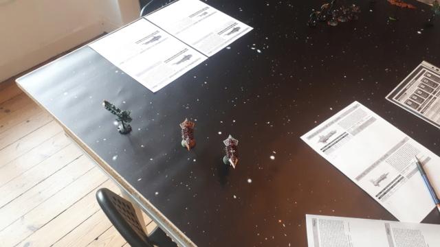 [NAVY vs CHAOS] Partie d'initiation – Duel de croiseurs 20210115