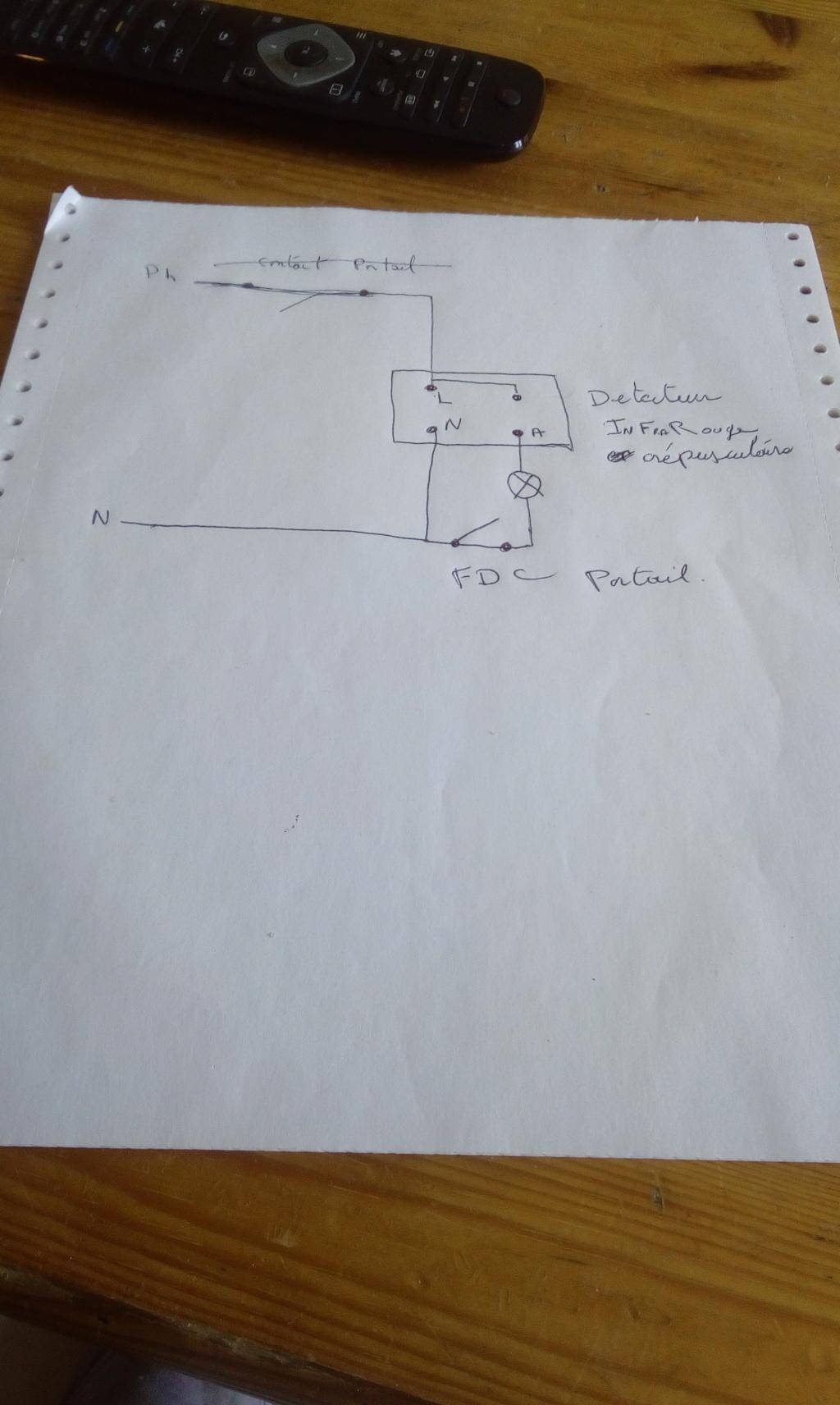 conseil électrique  (pose d'un capteur crépusculaire) 15485911