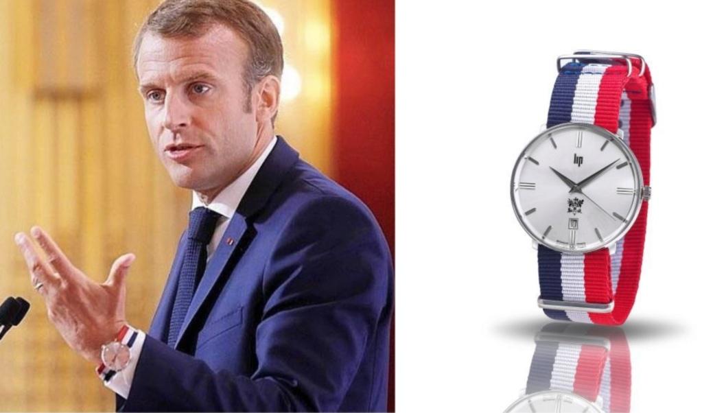 Une montre Lip Dauphine vendue sur le site de l'Elysee Besanz10