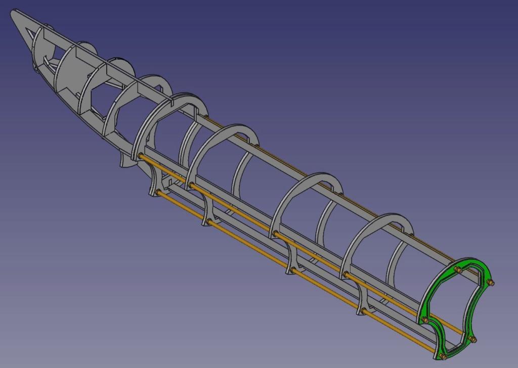 Kleinst-U-Boot Biber Rahmen10