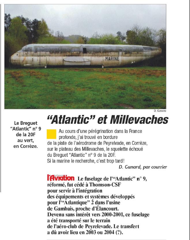 [Les anciens avions de l'aéro] Le Bréguet Atlantic (BR 1150) - Page 6 Br115010