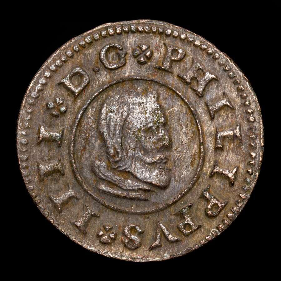 16 maravedís, Felipe IV, 1662, Madrid 16_mar10
