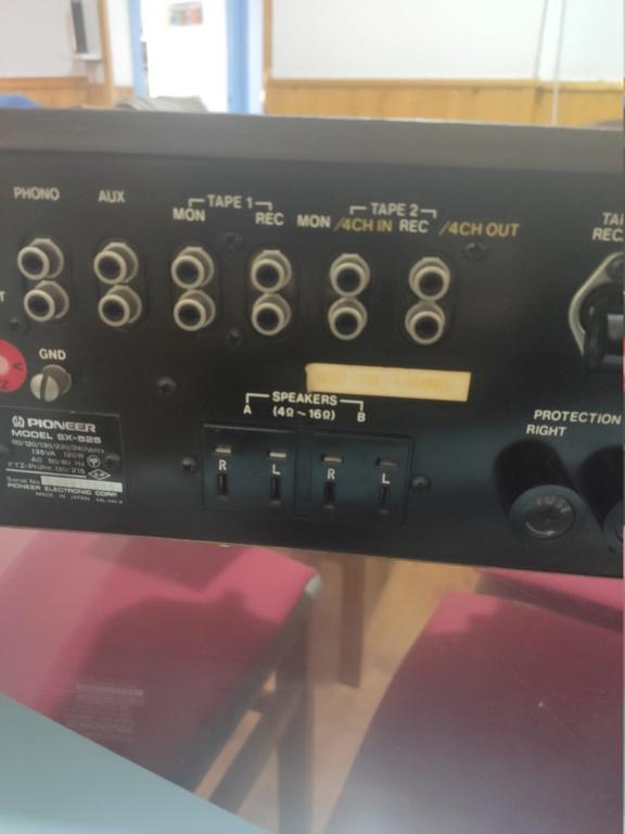 Pioneer sx 525 Img_2317