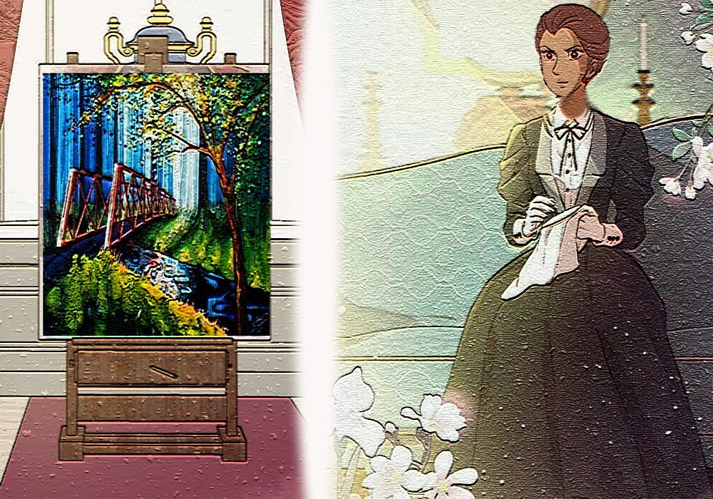 Desde la mansión Leagan: Cumpliendo el reto de la ama y dueña de la mazmorra Cuadro11